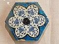 WLA brooklynmuseum Syrian Hexagonal Tile ca 1430 2.jpg