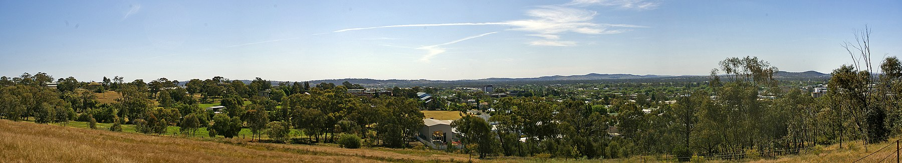 Looking Over Wagga Wagga
