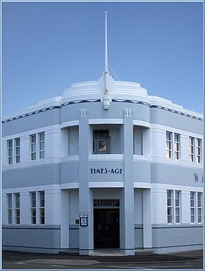 Wairarapa Times-Age - The Wairarapa Times-Age's Art Deco-inspired headquarters in Masterton