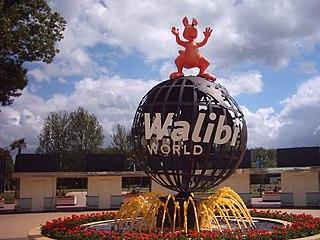 Walibi Holland Theme park in Biddinghuizen, Netherlands