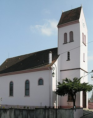 Waltenheim - Image: Waltenheim, Eglise Saints Pierre et Paul 1