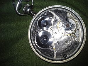 Waltham Watch Company - Waltham model 1899 pocketwatch movement.
