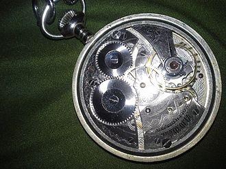 Waltham Watch Company - Waltham model 1899 pocketwatch movement.