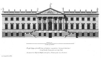 William Adam (architect) - Colen Campbell's design for Wanstead House