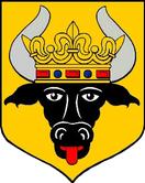 Wappen der Stadt Krakow am See