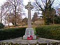 War Memorial, Great Bealings - geograph.org.uk - 1193263.jpg