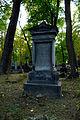 Warszawa Reduta Wolska - cmentarz prawosławny - nagrobek z 1881 roku.JPG