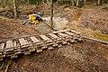 Warwickslade Cutting, stream rejoins Cutting - geograph.org.uk - 1570750.jpg