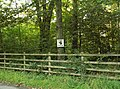 Watch out for red squirrels, Crofthead Wood - geograph.org.uk - 565253.jpg