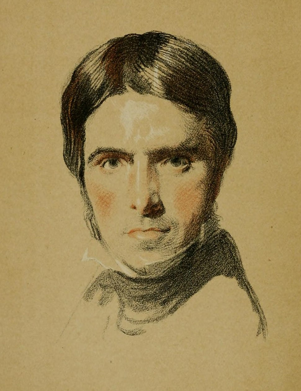 Water-colour Sketch of Thomas Carlyle