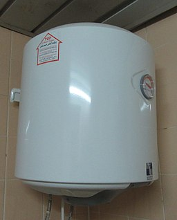 Water Heater White