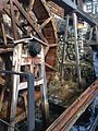 Water wheel in foursquare of Magome-juku.jpg