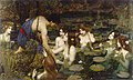 Waterhouse Hylas and the Nymphs Manchester Art Gallery 1896.15 n2.jpg