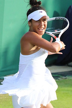Heather Watson - Watson at the 2017 Wimbledon Championships
