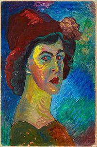 Werefkin, Marianne von - Selfportrait I - Google Art Project cropped.jpg