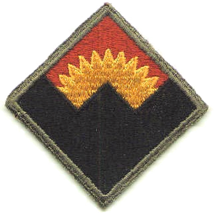 Western Defense Command - Emblem of the Western Defense Command