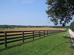A large farm in Westtown Township, July 2004