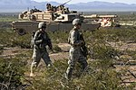 White Falcons integrate armor support for combined arms live fire exercise in New Mexico 151001-A-DP764-009.jpg
