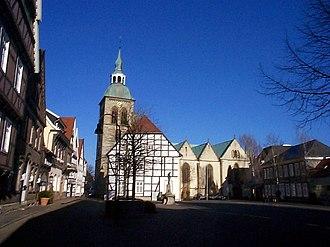 Rheda-Wiedenbrück - Wiedenbrück market square