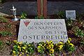 Wiener Zentralfriedhof - Gedenktafel für die Opfer des Nazismus die für Österreich starben.jpg