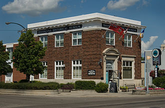 Transcona, Winnipeg - The Transcona Historical Museum is in the former Bank of Toronto building.