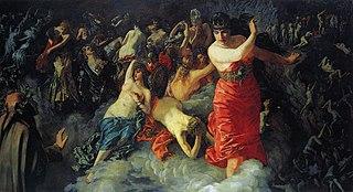 Scene from Danté's Divine Comedy