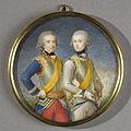 Willem Frederik (1772-1843), prins van Oranje-Nassau, met zijn jongere broer Willem George Frederik (1774-99) Rijksmuseum SK-A-4237.jpeg