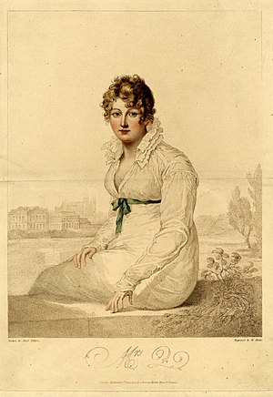 "Bennet family - In a letter to Cassandra dated May 1813, Jane Austen describes a picture she saw at a gallery which was a good likeness of ""Mrs. Bingley"" – Jane Bennet.  Deirdre Le Faye in The World of Her Novels suggests that ""Portrait of Mrs. Q-"" is the picture Austen was referring to (pp. 201–203)."