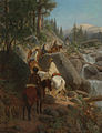 William Hahn - The Trip to Glacier Point - The Excursion Party, 1874.jpg