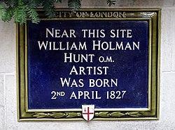William holman hunt (city of london)