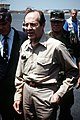 William Perry shortly after arriving at Kigali Airport in Rwanda, 1994.jpg