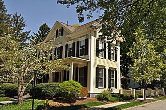 Albert Ayer House - Image: Winchester MA Albert Ayer House