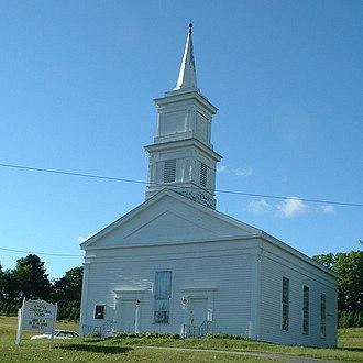 Windsor, Massachusetts - Windsor Congregational Church