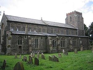 Wingfield, Suffolk - Image: Wingfield Church