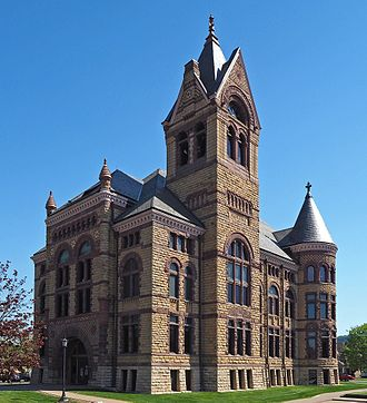 Winona County, Minnesota - Image: Winona County Courthouse