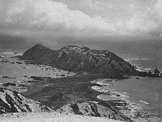 hill on Macquarie Island