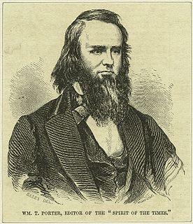 William T. Porter 19th-century American journalist and newspaper editor