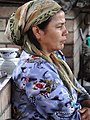 Woman Vendor in Central Food Market - Margilon - Uzbekistan - 01 (7553308228).jpg