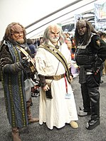 WonderCon 2011 - 3 Klingons from Star Trek (5593926846).jpg