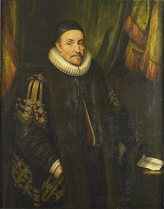 Battle of Steenbergen (1583) - Prince William of Orange by Michiel Jansz. van Mierevelt.