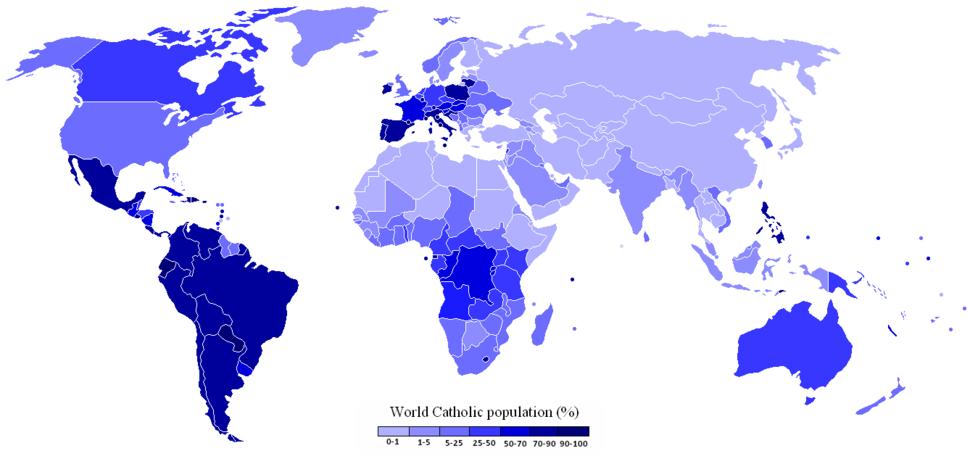 World Catholic Population