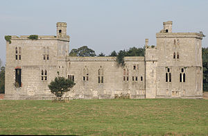 Henry Percy, 5th Earl of Northumberland - Wressle Castle, Yorkshire, where Percy died in 1527