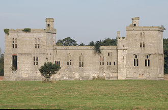 Henry Percy, 6th Earl of Northumberland - Wressle Castle, Yorkshire, where Robert Aske requested Percy to join the Pilgrimage of Grace.