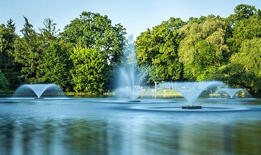 Wroclaw- Park Poludniowy- fontanny 01