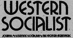 Western Socialist - Image: Wspus spc western socialist 1940s logo transparent