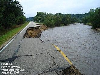 Minnesota State Highway 74 - Image: Wwparka