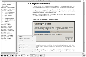 Xpdf - Image: Xpdf screenshot