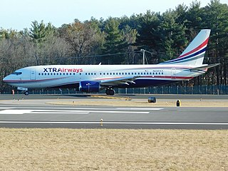 Xtra Airways Boeing 737-400 at MHT