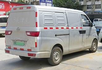 Chery Q22 - Yangtse WG5031XXYBEV rear
