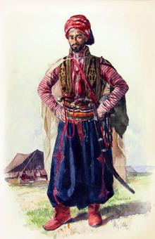 Yézidisme religion minoritaire 220px-Yezidi_Man
